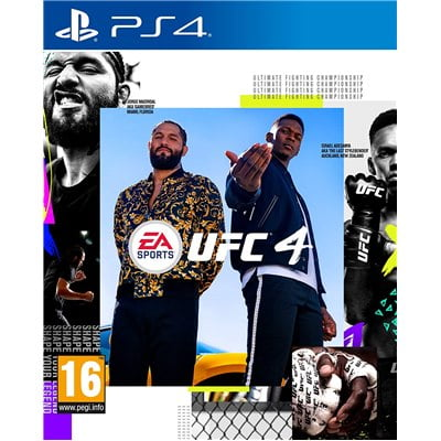משחקUFC 4 PS4