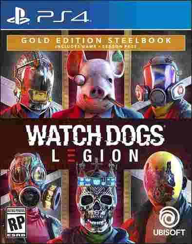 משחקWATCH DOGS Legion Gold Edition PS4