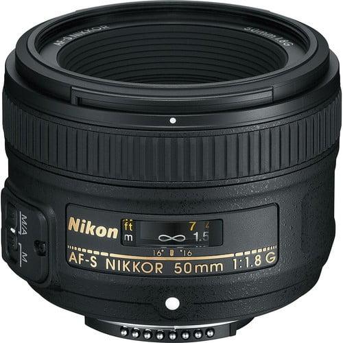 עדשה Nikon AF-S NIKKOR 50mm f/1.8G ניקון
