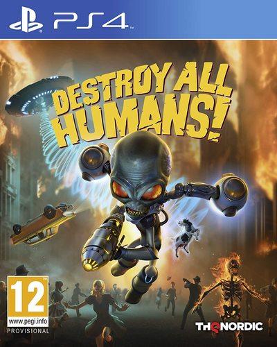 משחקDestroy All Humans - PS4