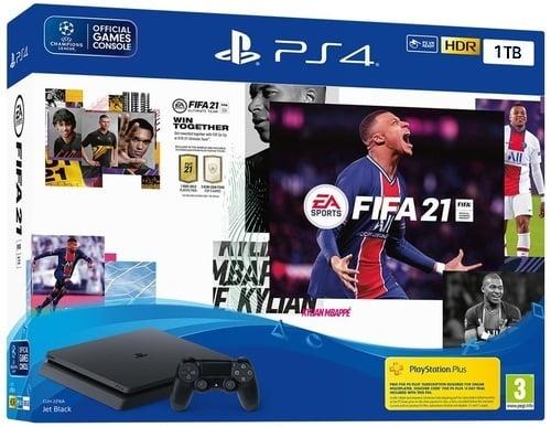 Sony PlayStation 4 SLIM 500GB סוני + FIFA 21