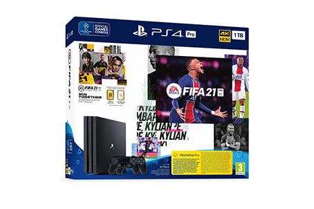 SONY FIFA 21 PS4 PRO 1TB + DS2