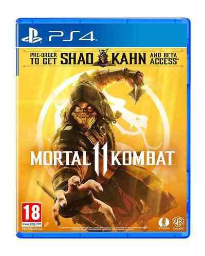 משחקMortal Kombat 11 PS4