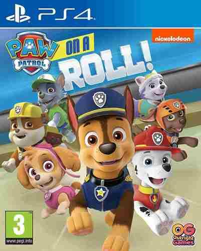 משחקPaw Patrol Is On A Roll PS4