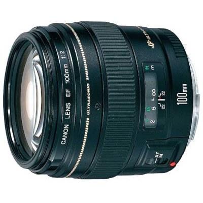 עדשה Canon EF 100mm f/2.0 USM קנון
