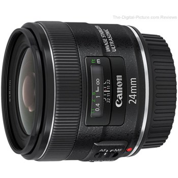 עדשה Canon EF 24mm f/2.8 IS USM קנון