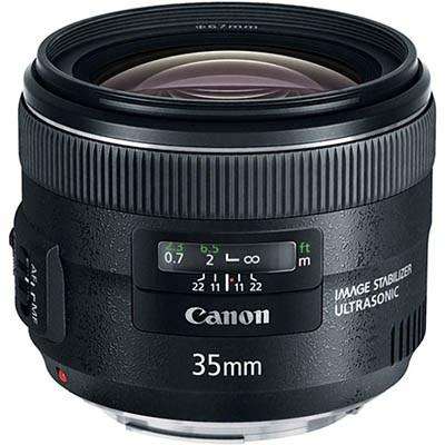 עדשה Canon EF 35mm f/2 IS USM קנון