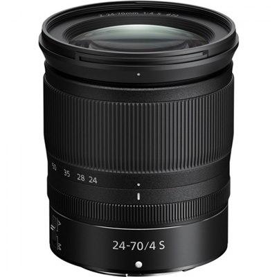 עדשה Nikon NIKKOR Z 24-70mm f/4 S ניקון